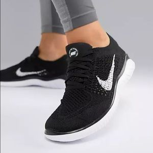 NIKE FREE RN Flyknit Sneakers Running Shoes New Training